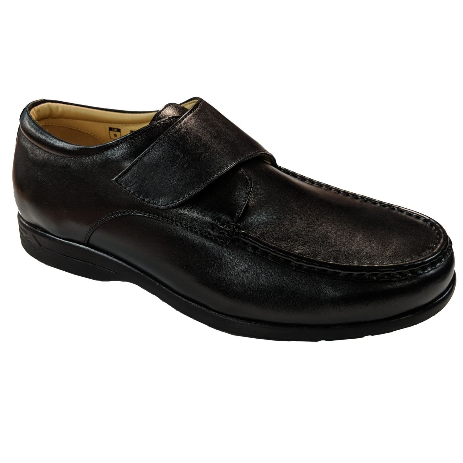 Fleet & Foster Shoes - Fred - Black 1