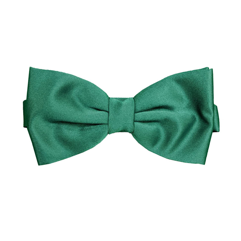 Folkespeare Bow Tie & Pocket Square Set - BK0030 - Forest Green 1