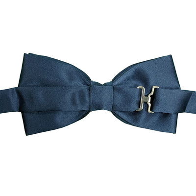 Folkespeare Bow Tie & Pocket Square Set - BK0030 - French Navy 3
