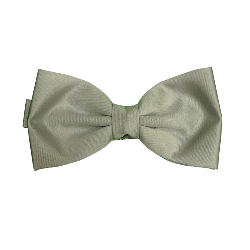 Folkespeare Bow Tie & Pocket Square Set - BK0030 - Pearl 1