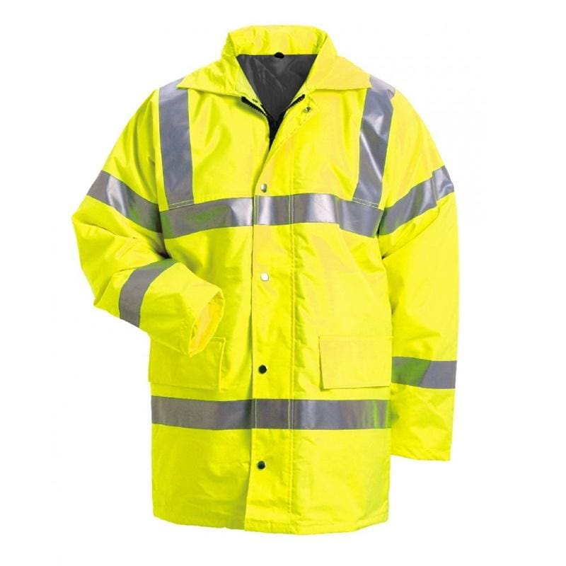Force Nine Hi-Vis Coat - 25901 - Yellow 1