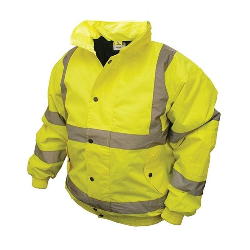 Harbour Lights Hi-Vis Bomber Jacket - OC285 - Yellow 1