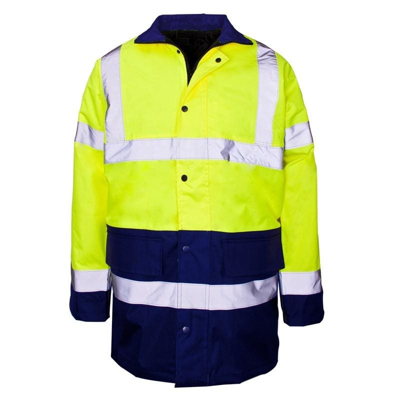 Harbour Lights Hi-Vis Coat - OC286 - Yellow 1