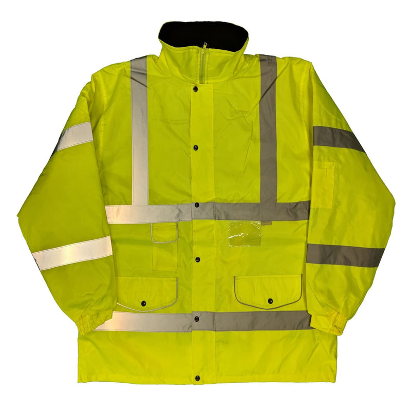 Hi-Light High Visibility Parka - Yellow 1