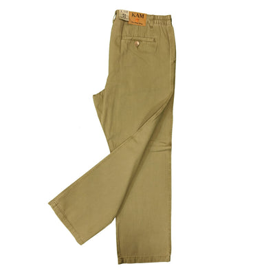 Kam Modern Chinos - KBS 252 - Taupe 6