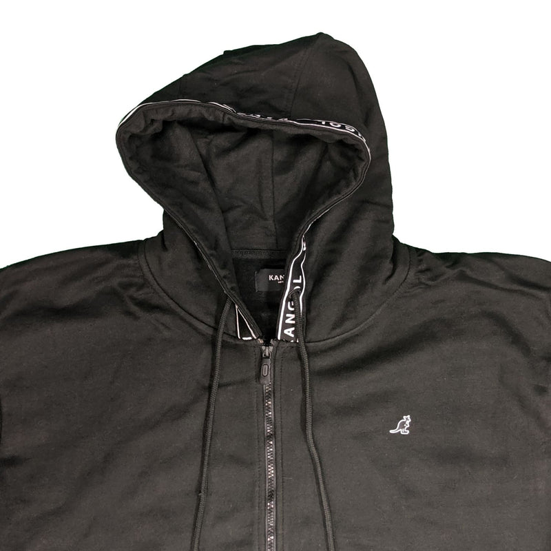 Kangol Full Zip Hoody - Foray - Black 1