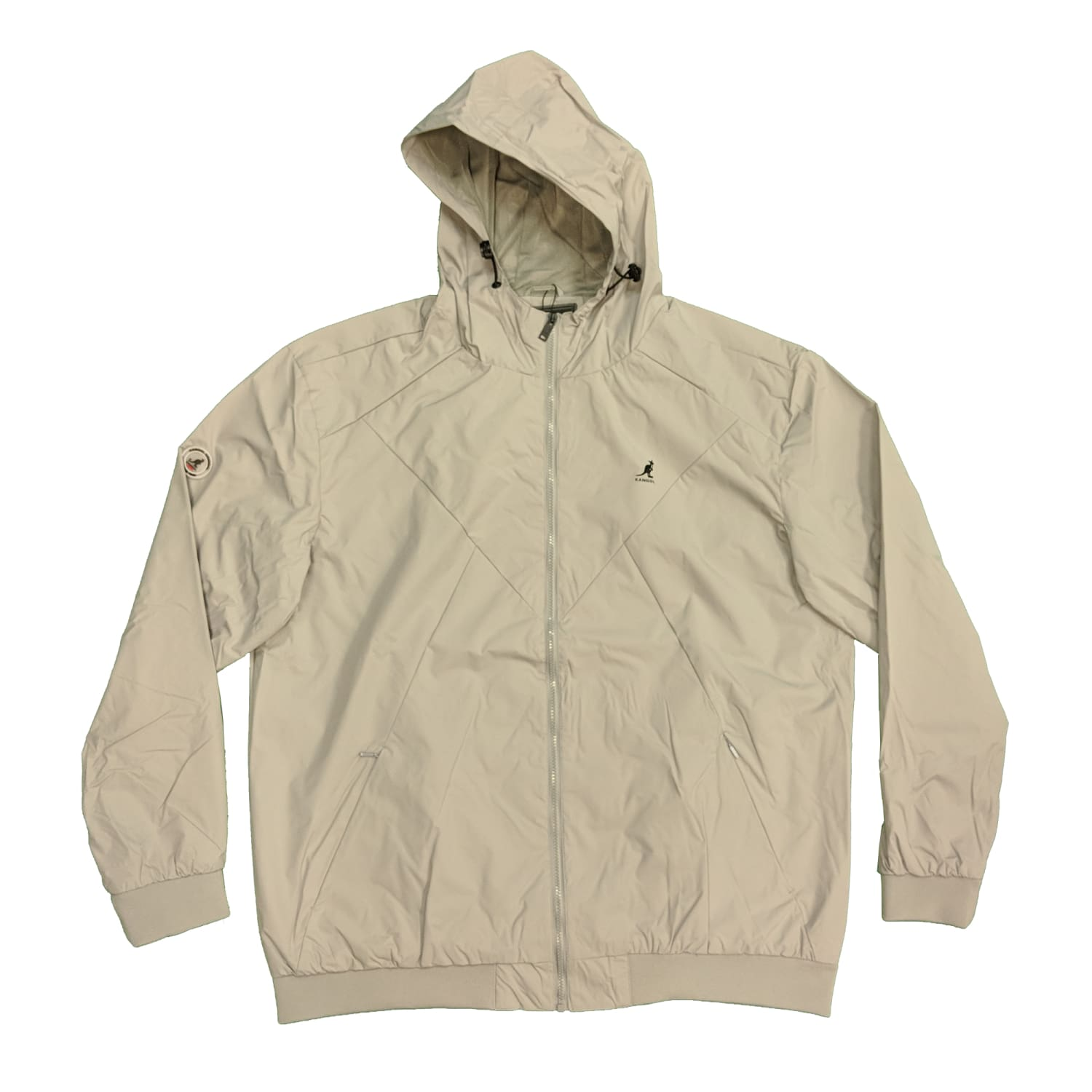 Kangol Jacket - K601498 - Hudson - Light Grey 1