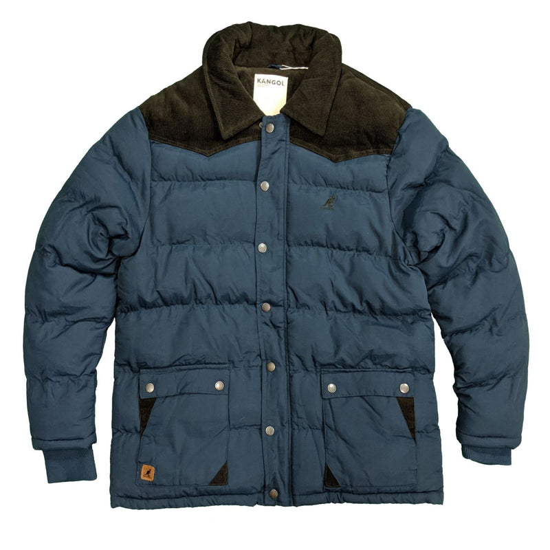 Kangol Padded Coat - DF229 - Navy 1