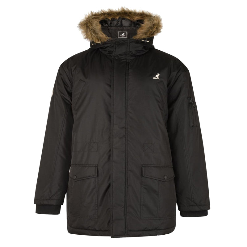 Kangol Parka - Cranage - Black 1