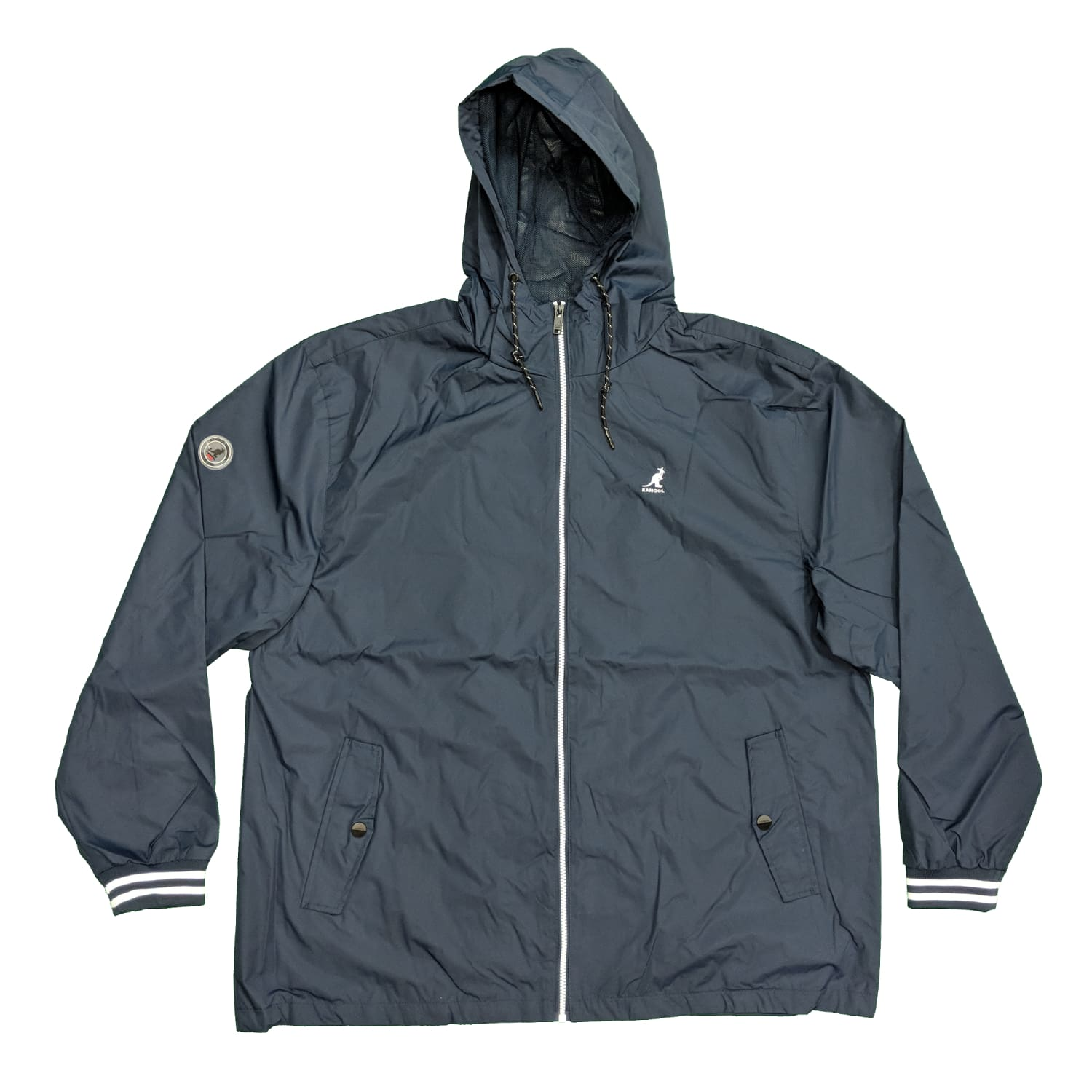 Kangol Waterproof Jacket - K601497 - Easton - Navy 1