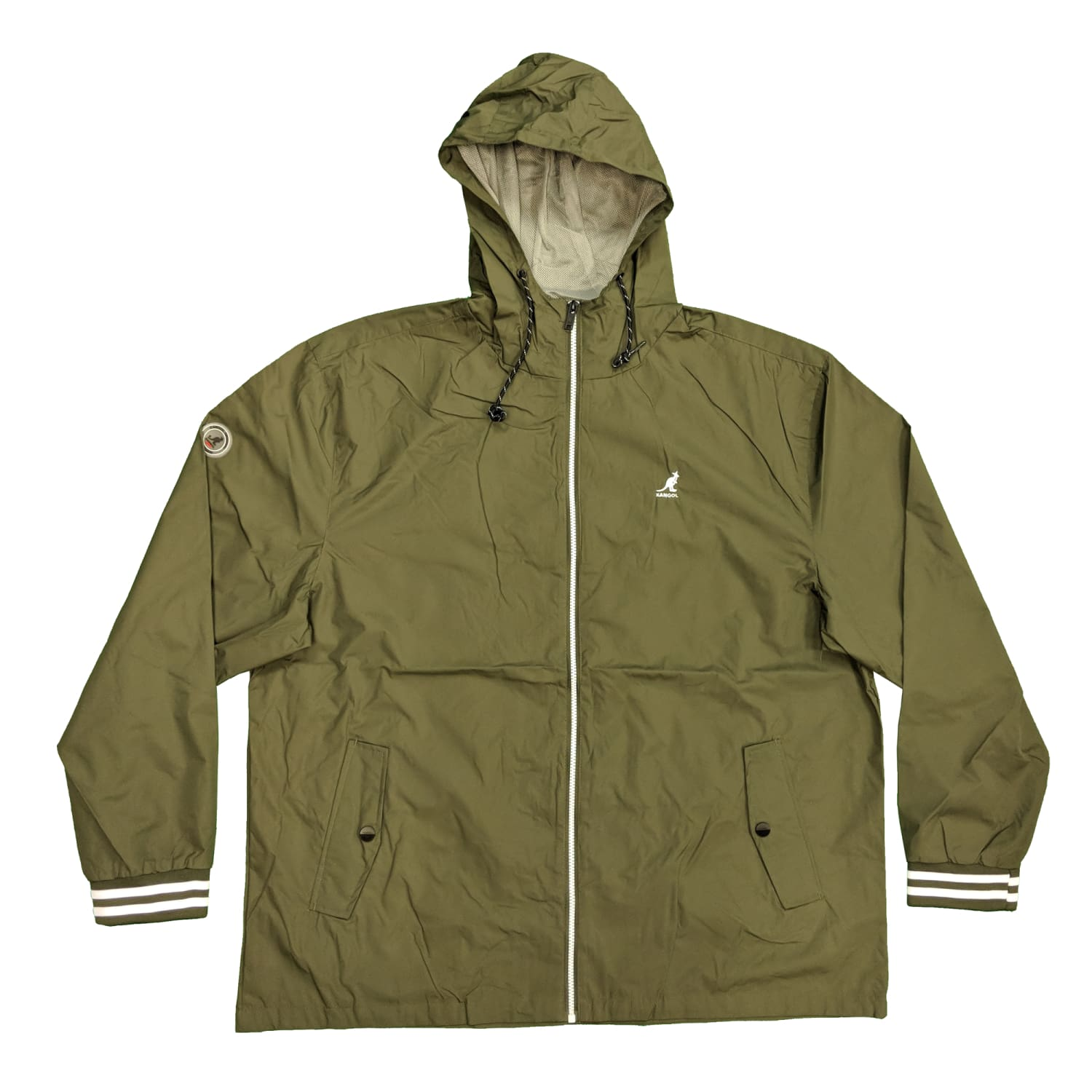 Kangol Waterproof Jacket - K601497 - Easton - Olive 1