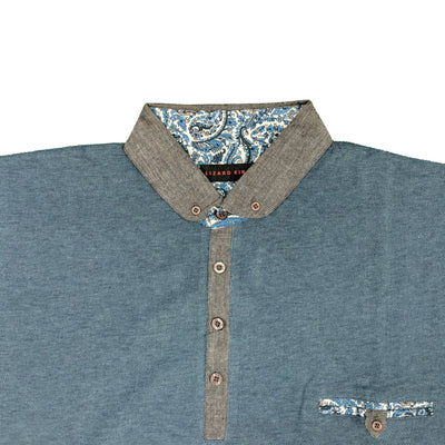 Lizard King Polo - LK8600 - Teal 2