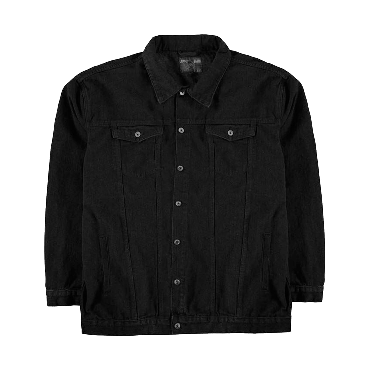 Loyalty & Faith Denim Jacket - L601486 - Rocket - Black 1