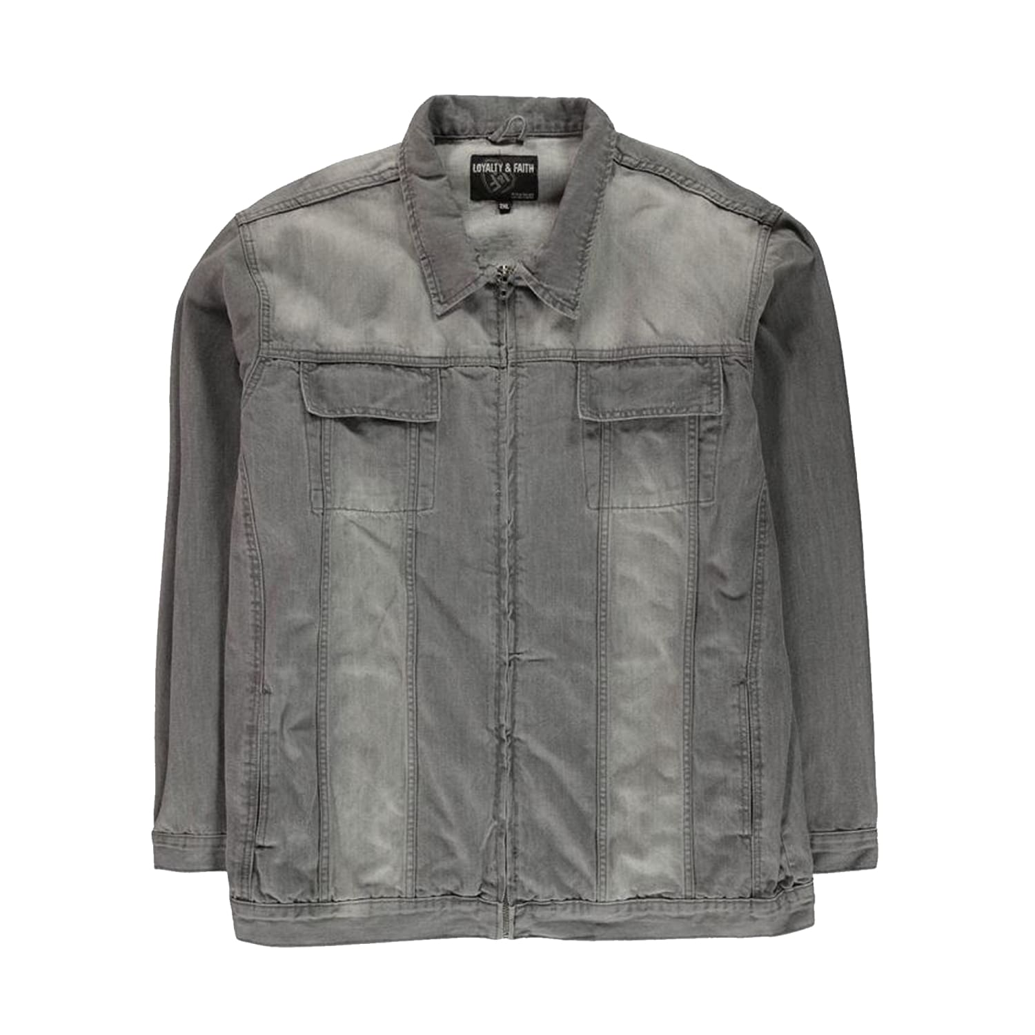 Loyalty & Faith Denim Jacket - L601494 - Fabio - Grey Wash 1