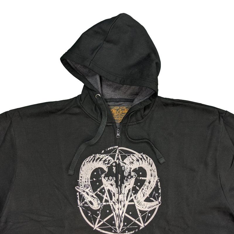 McCarthy Full Zip Hoody - MC700 - Black 1