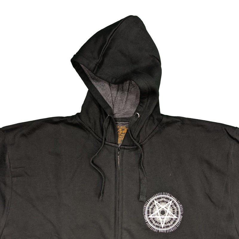 McCarthy Full Zip Hoody - MC701 - Black 1