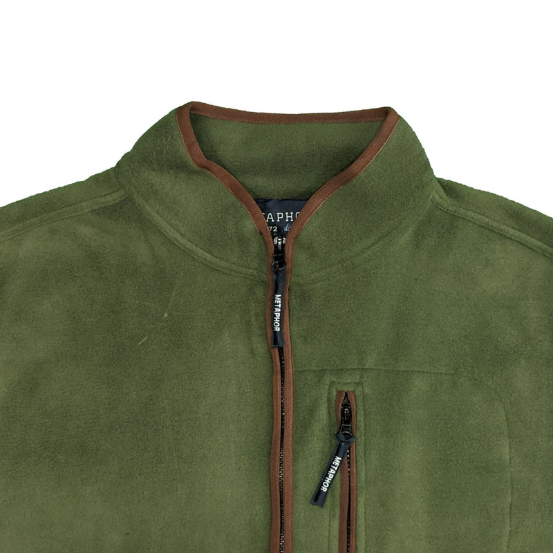 Metaphor Full Zip Fleece Gilet - 01557 - Forest 1