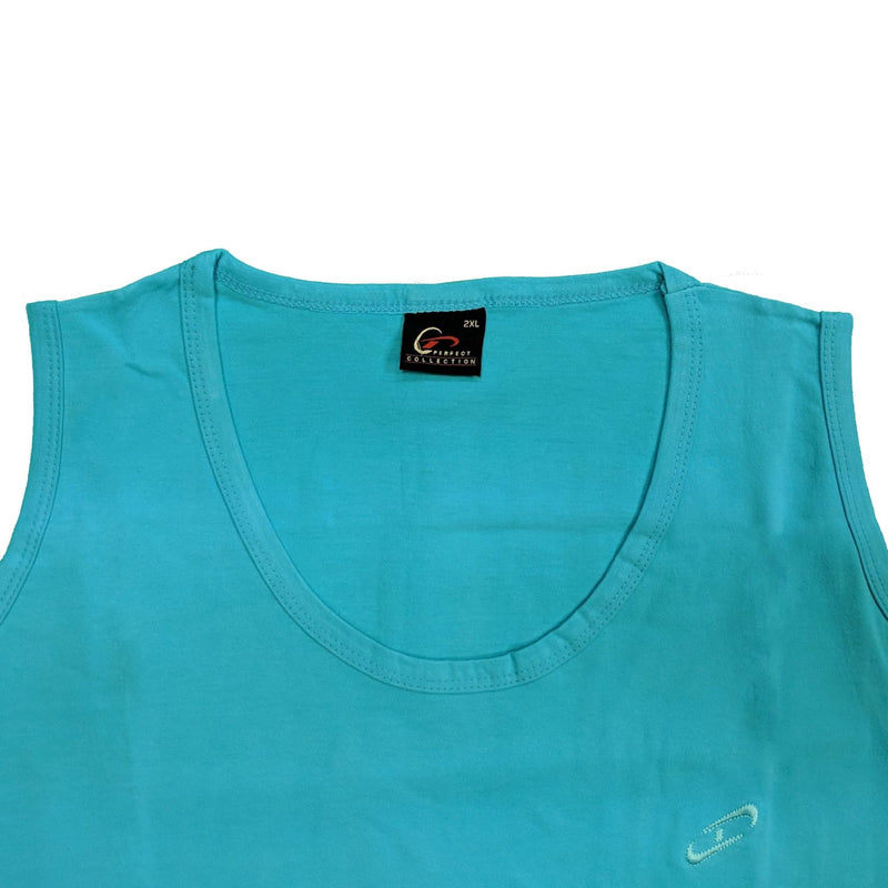 Perfect Collection Vest - Aqua 1