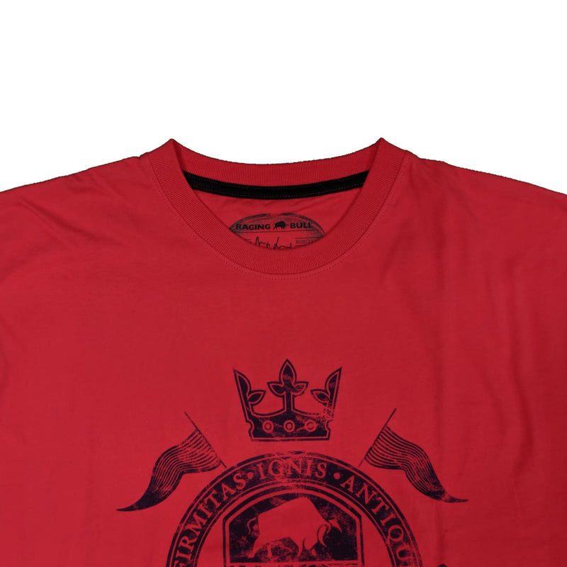 Raging Bull World Cup Crest T-Shirt - 1510111 - Pink 1