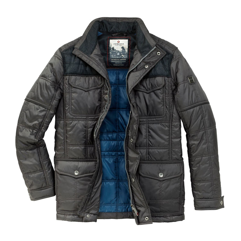 Redpoint Padded Coat - Rough - Navy 1