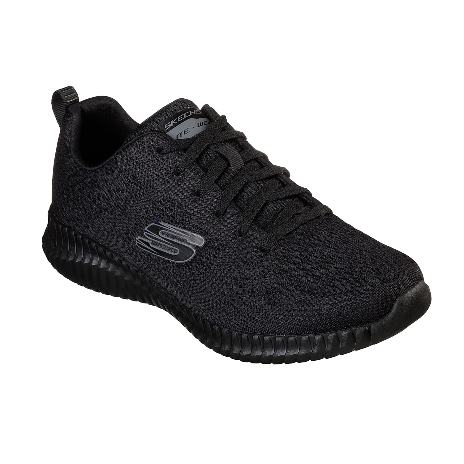 Skechers Trainers - 52871 - Elite Flex - Black 1