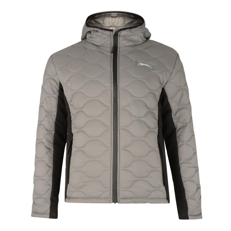 Slazenger Padded Jacket - Cash - Grey 1