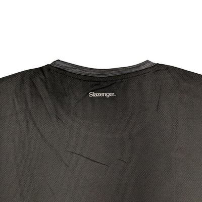 Slazenger Performance T-Shirt - Drew - Black Space Dye 4