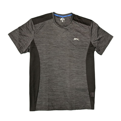 Slazenger Performance T-Shirt - Drew - Black Space Dye 1