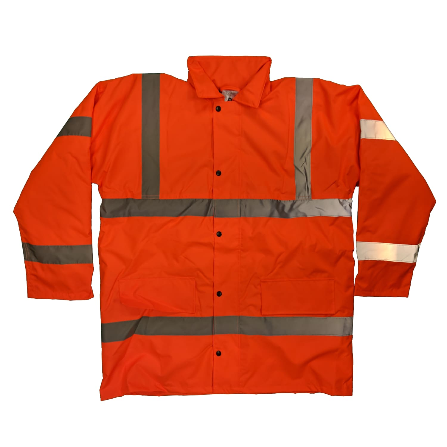 Yoko Hi-Vis Coat - HVP300 - Orange 1