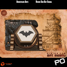 Load image into Gallery viewer, Avaultelier Arts - Rising Sun Bat Signal