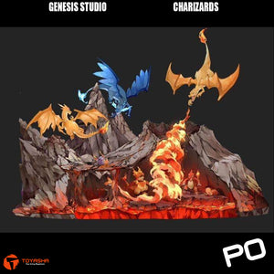 Genesis Studio - Charizards