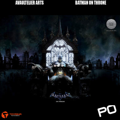 Avaultelier Arts - Batman On Throne