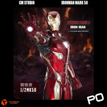 Load image into Gallery viewer, CM Studio - Ironman Mark L (50) 1/2 Scale