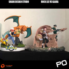 Load image into Gallery viewer, Shark Design - Rock Lee vs Gaara