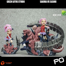 Load image into Gallery viewer, Green Lotus Studio - Sakura vs Sasori