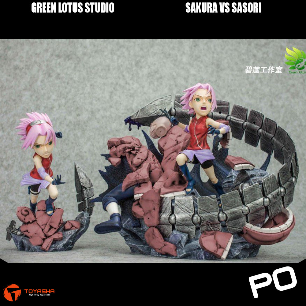 Green Lotus Studio - Sakura vs Sasori