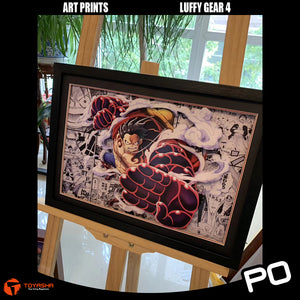 Art Print - Luffy Gear 4