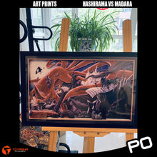 Load image into Gallery viewer, Art Print - Hashirama vs Madara