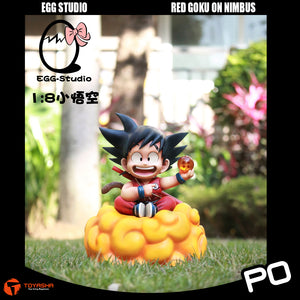 Egg Studio - Red Goku on Nimbus