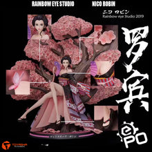 Load image into Gallery viewer, Rainbow Eye Studio - Nico Robin