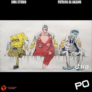 KMG Studio - Patrick as Akainu