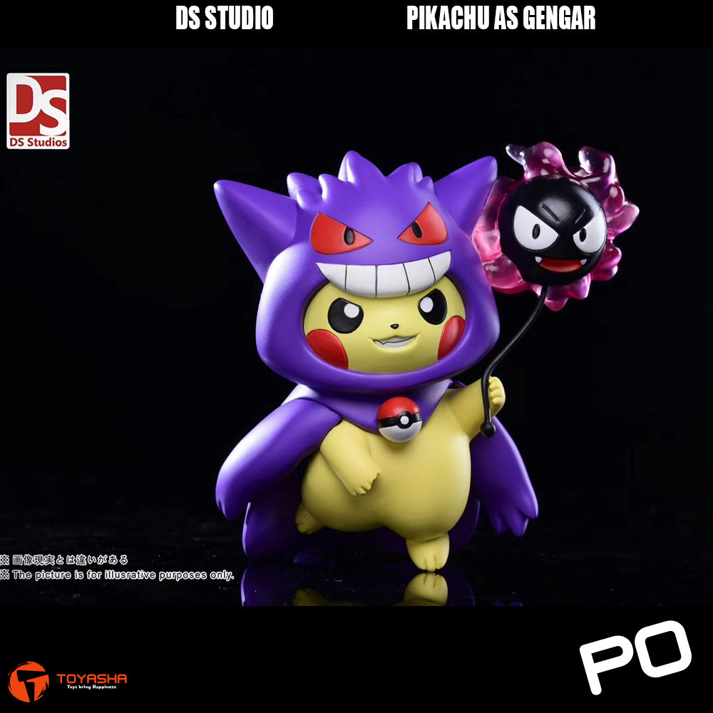 DS Studio - Pikachu as Gengar