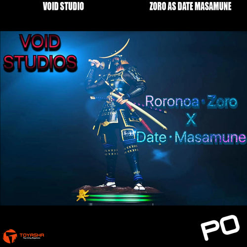 Void Studio - Roronoa Zoro as Date Masamune