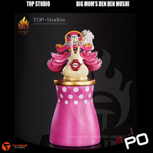 Load image into Gallery viewer, Top Studio - Big Mom's Den Den Mushi (With Stand)