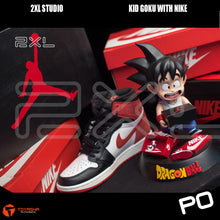 Load image into Gallery viewer, 2XL Studio - Kid Goku with Nike AJ (Turtle shell back)