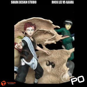 Shark Design - Rock Lee vs Gaara