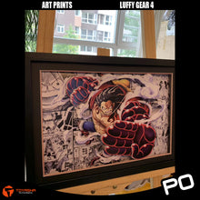 Load image into Gallery viewer, Art Print - Luffy Gear 4