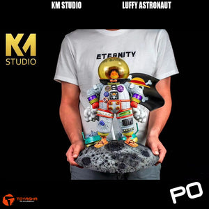 KM Studio - Luffy as Astronaut ( Two Versions )