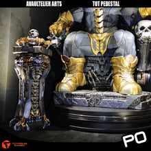 Load image into Gallery viewer, Avaultelier Arts - Thanos on Throne Pedestal
