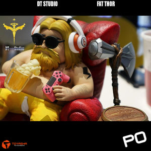 DT Studio - Fat Thor ( Pink and Yellow Pants Versions available )